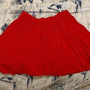 Short shirt 1x red